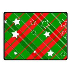 Background Abstract Christmas Fleece Blanket (small) by Nexatart