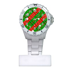 Background Abstract Christmas Plastic Nurses Watch by Nexatart