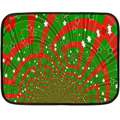 Background Abstract Christmas Pattern Double Sided Fleece Blanket (mini)  by Nexatart