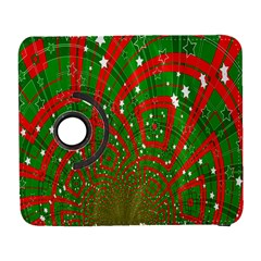 Background Abstract Christmas Pattern Galaxy S3 (flip/folio) by Nexatart