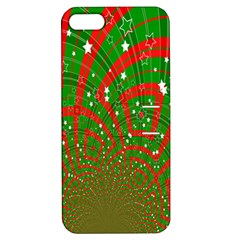 Background Abstract Christmas Pattern Apple Iphone 5 Hardshell Case With Stand