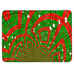 Background Abstract Christmas Pattern Samsung Galaxy Tab 7  P1000 Flip Case by Nexatart