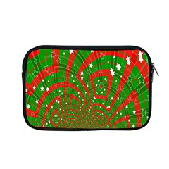 Background Abstract Christmas Pattern Apple Macbook Pro 13  Zipper Case by Nexatart