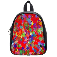 Background Celebration Christmas School Bags (small)  by Nexatart