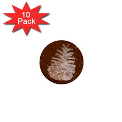 Background Christmas Tree Christmas 1  Mini Buttons (10 Pack)