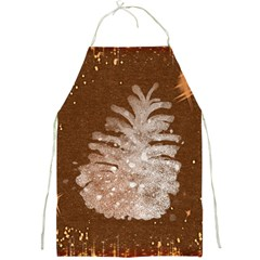 Background Christmas Tree Christmas Full Print Aprons