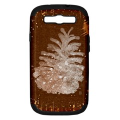 Background Christmas Tree Christmas Samsung Galaxy S Iii Hardshell Case (pc+silicone) by Nexatart