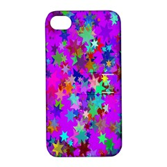 Background Celebration Christmas Apple Iphone 4/4s Hardshell Case With Stand