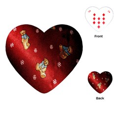 Background Fabric Playing Cards (heart)