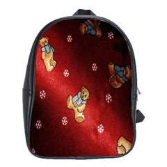 Background Fabric School Bags (xl)  by Nexatart
