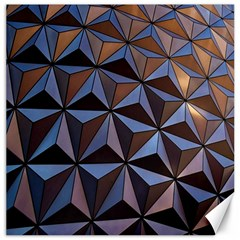 Background Geometric Shapes Canvas 12  X 12   by Nexatart