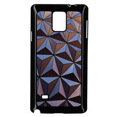 Background Geometric Shapes Samsung Galaxy Note 4 Case (black) by Nexatart
