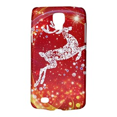 Background Reindeer Christmas Galaxy S4 Active by Nexatart