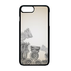 Background Retro Abstract Pattern Apple Iphone 7 Plus Seamless Case (black) by Nexatart