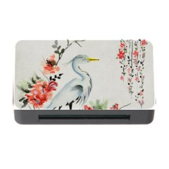 Background Scrapbook Paper Asian Memory Card Reader With Cf