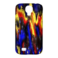 Banner Header Plasma Fractal Samsung Galaxy S4 Classic Hardshell Case (pc+silicone) by Nexatart