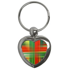 Background Texture Structure Green Key Chains (heart)  by Nexatart