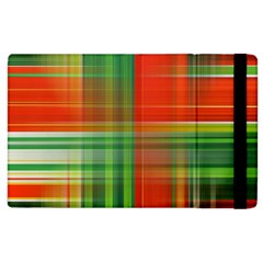 Background Texture Structure Green Apple Ipad 3/4 Flip Case by Nexatart