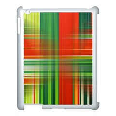 Background Texture Structure Green Apple Ipad 3/4 Case (white) by Nexatart