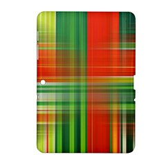 Background Texture Structure Green Samsung Galaxy Tab 2 (10 1 ) P5100 Hardshell Case  by Nexatart