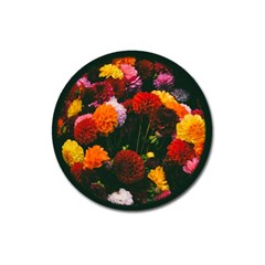 Beautifull Flowers Magnet 3  (round) by Nexatart