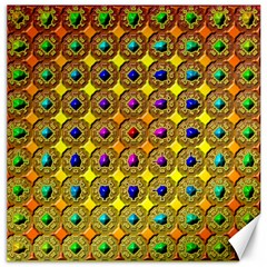 Background Tile Kaleidoscope Canvas 12  X 12   by Nexatart