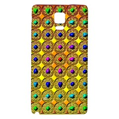Background Tile Kaleidoscope Galaxy Note 4 Back Case by Nexatart