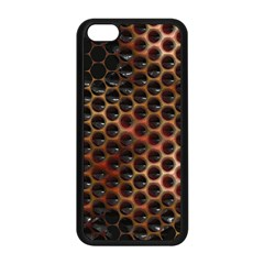 Beehive Pattern Apple Iphone 5c Seamless Case (black) by Nexatart