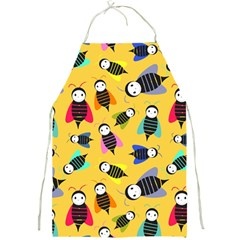 Bees Animal Pattern Full Print Aprons