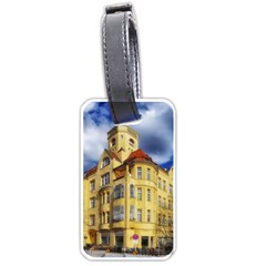 Berlin Friednau Germany Building Luggage Tags (one Side)  by Nexatart