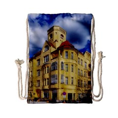 Berlin Friednau Germany Building Drawstring Bag (small)