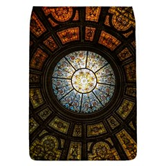 Black And Borwn Stained Glass Dome Roof Flap Covers (l)  by Nexatart