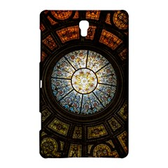 Black And Borwn Stained Glass Dome Roof Samsung Galaxy Tab S (8 4 ) Hardshell Case  by Nexatart