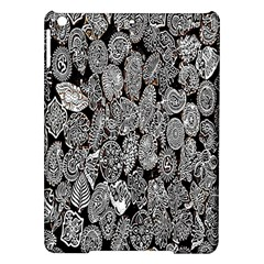 Black And White Art Pattern Historical Ipad Air Hardshell Cases by Nexatart