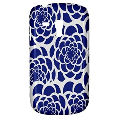 Blue And White Flower Background Galaxy S3 Mini by Nexatart