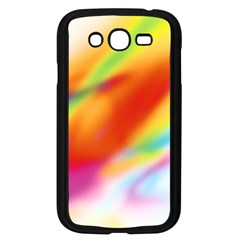 Blur Color Colorful Background Samsung Galaxy Grand Duos I9082 Case (black) by Nexatart