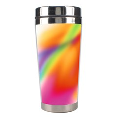 Blur Color Colorful Background Stainless Steel Travel Tumblers by Nexatart