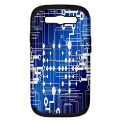 Board Circuits Trace Control Center Samsung Galaxy S Iii Hardshell Case (pc+silicone) by Nexatart