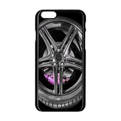 Bord Edge Wheel Tire Black Car Apple Iphone 6/6s Black Enamel Case