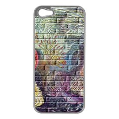 Brick Of Walls With Color Patterns Apple Iphone 5 Case (silver) by Nexatart