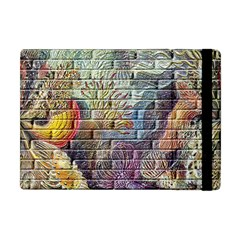 Brick Of Walls With Color Patterns Apple Ipad Mini Flip Case