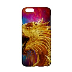 Broncefigur Golden Dragon Apple Iphone 6/6s Hardshell Case by Nexatart