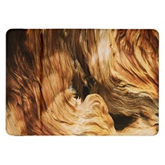 Brown Beige Abstract Painting Samsung Galaxy Tab 8 9  P7300 Flip Case by Nexatart
