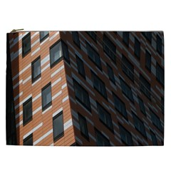 Building Architecture Skyscraper Cosmetic Bag (xxl)  by Nexatart