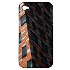 Building Architecture Skyscraper Apple Iphone 4/4s Hardshell Case (pc+silicone) by Nexatart