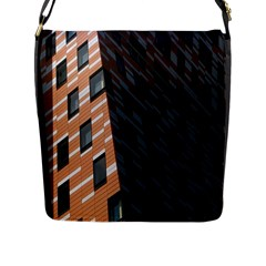 Building Architecture Skyscraper Flap Messenger Bag (l)