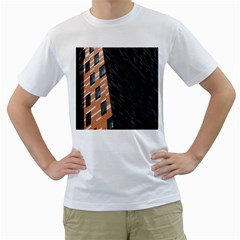 Building Architecture Skyscraper Men s T Shirt (white)