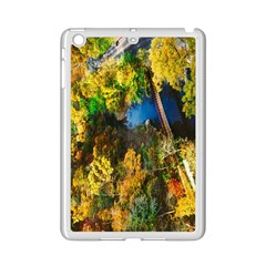 Bridge River Forest Trees Autumn Ipad Mini 2 Enamel Coated Cases by Nexatart