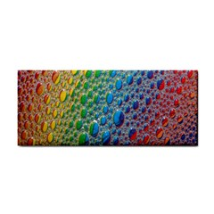 Bubbles Rainbow Colourful Colors Cosmetic Storage Cases by Nexatart