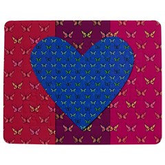 Butterfly Heart Pattern Jigsaw Puzzle Photo Stand (rectangular) by Nexatart